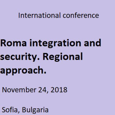 Roma Integration and Security. Regional Approach.